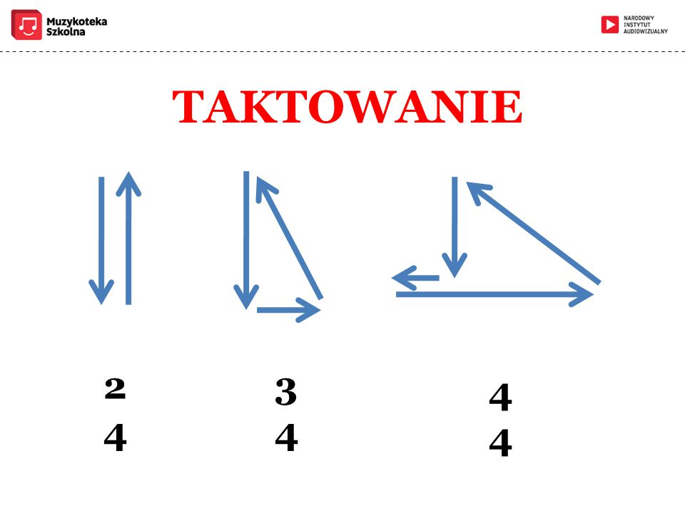 TAKTOWANIE 2 4 3 4 4
