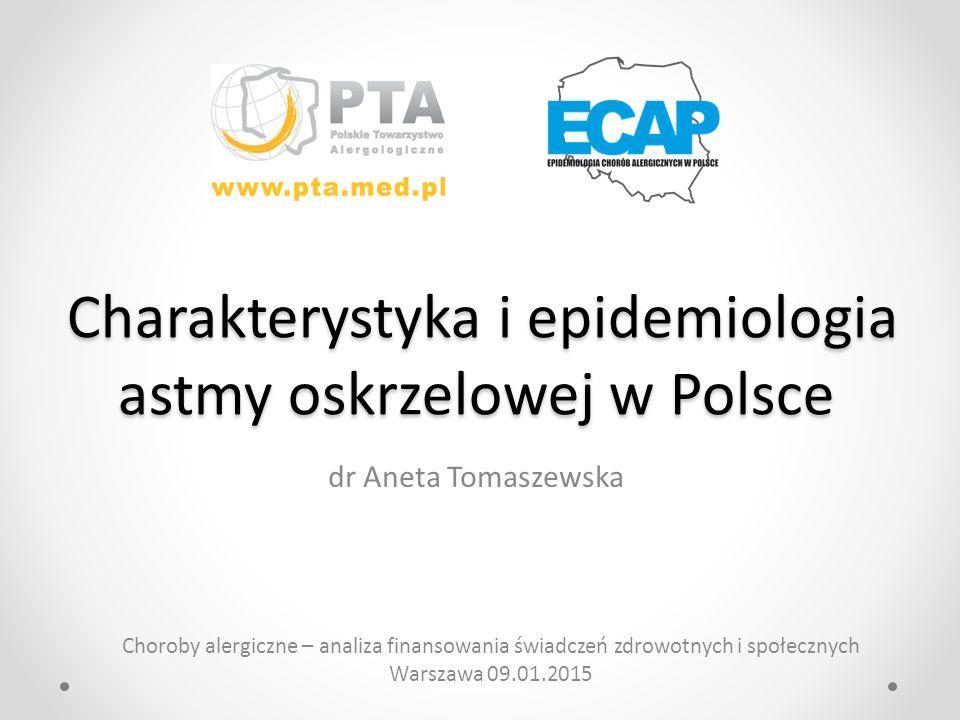Charakterystyka i epidemiologia astmy oskrzelowej w Polsce