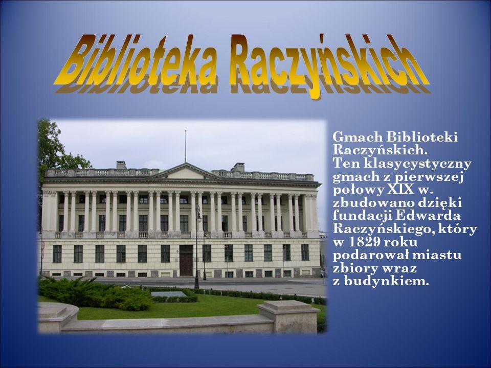 Biblioteka Raczyńskich