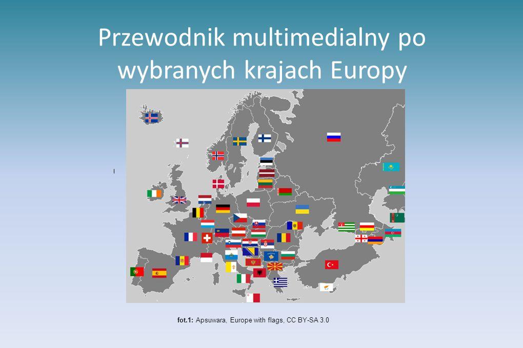 Przewodnik multimedialny po wybranych krajach Europy