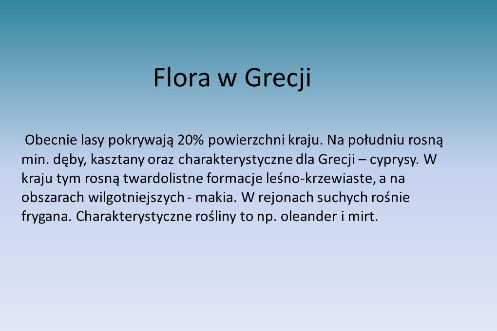Flora w Grecji