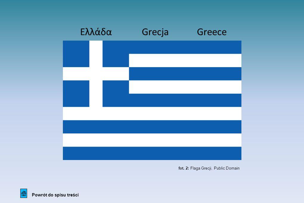 Ελλάδα Grecja Greece Powrót do spisu treści