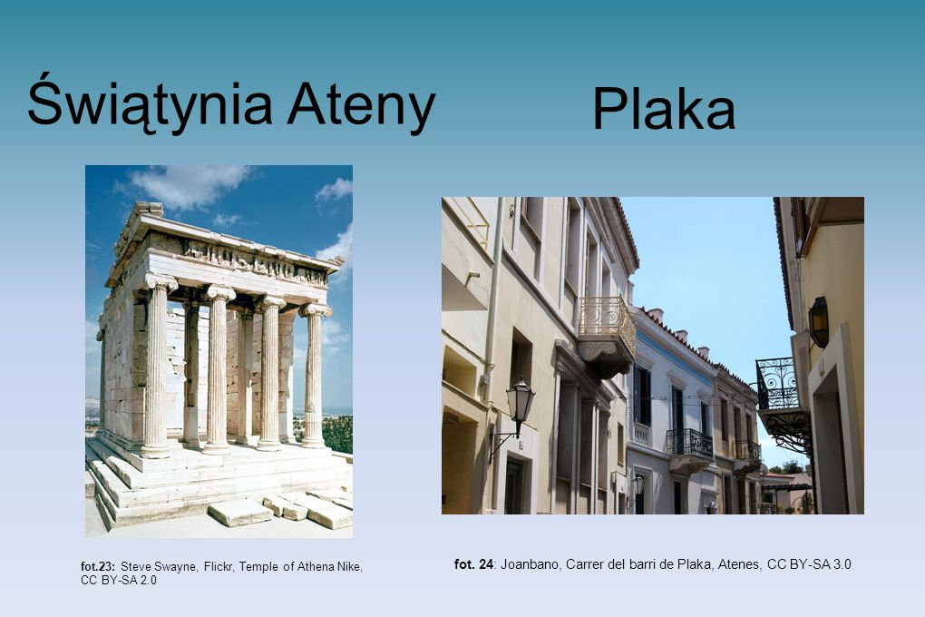 fot. 24: Joanbano, Carrer del barri de Plaka, Atenes, CC BY-SA 3.0