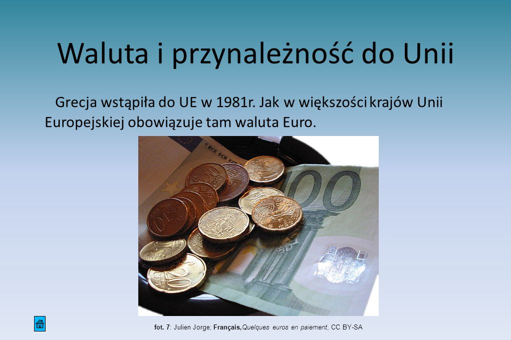 Waluta i przynależność do Unii