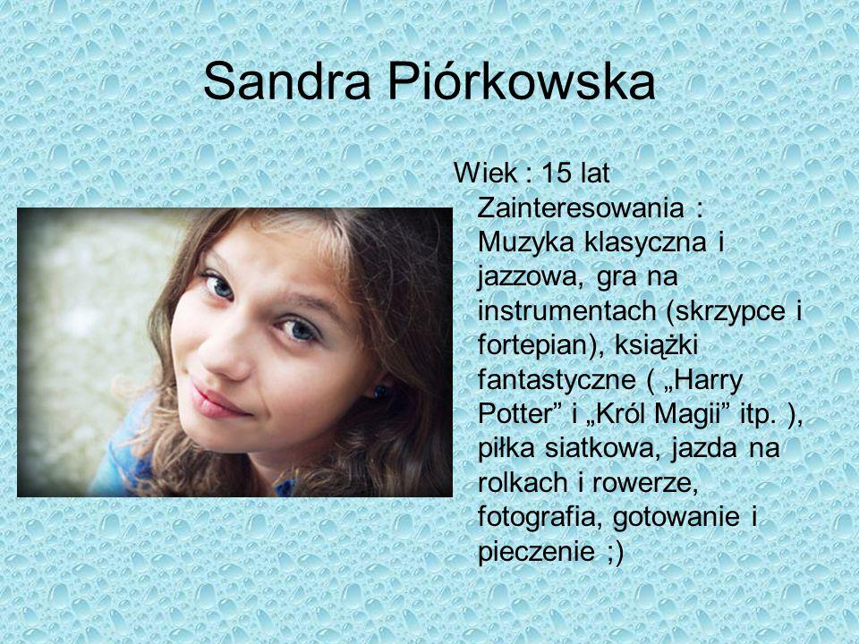 Sandra Piórkowska