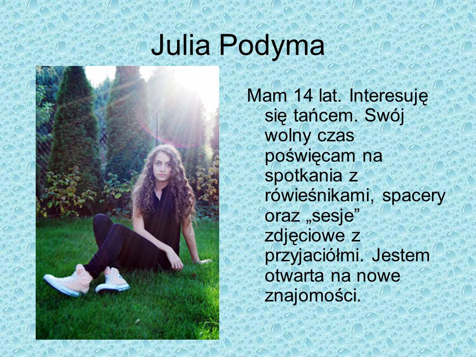 Julia Podyma