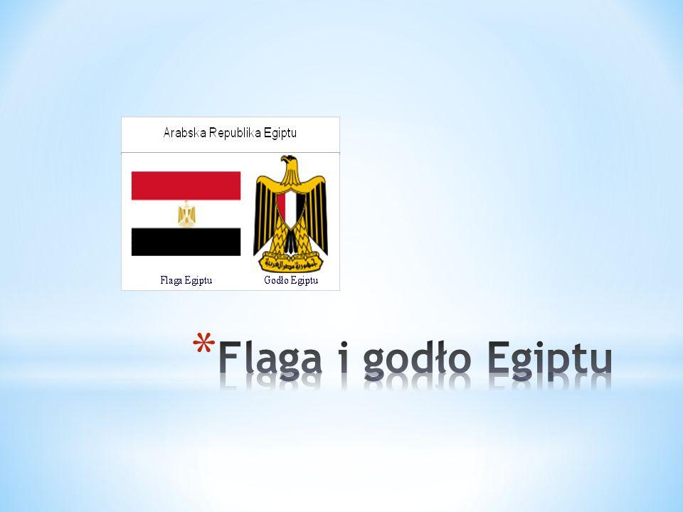 Flaga i godło Egiptu