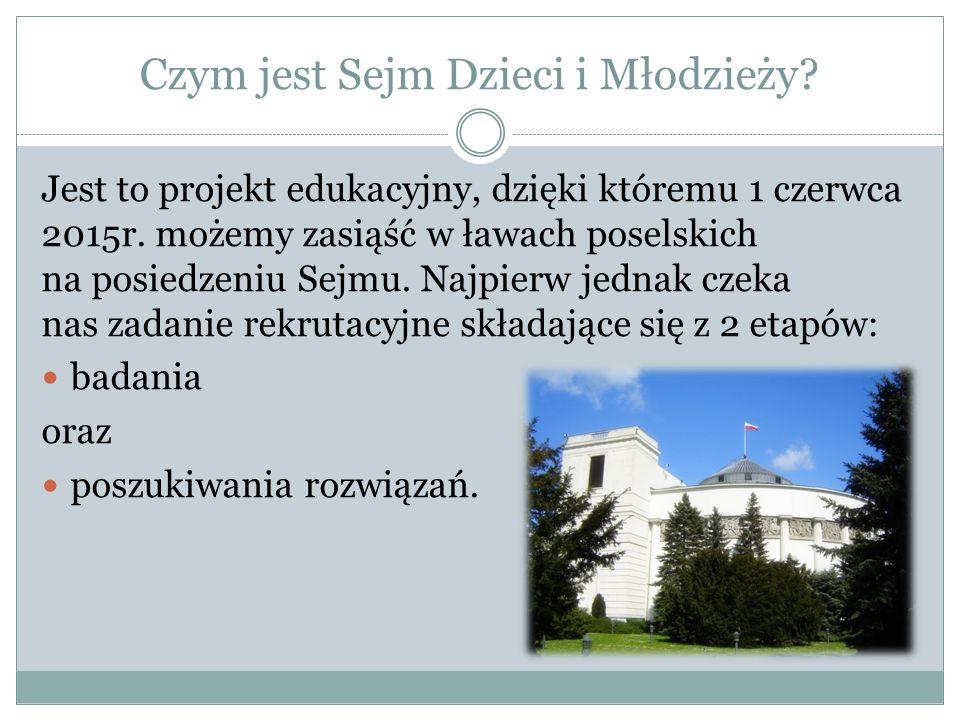 Czym jest Sejm Dzieci i Młodzieży