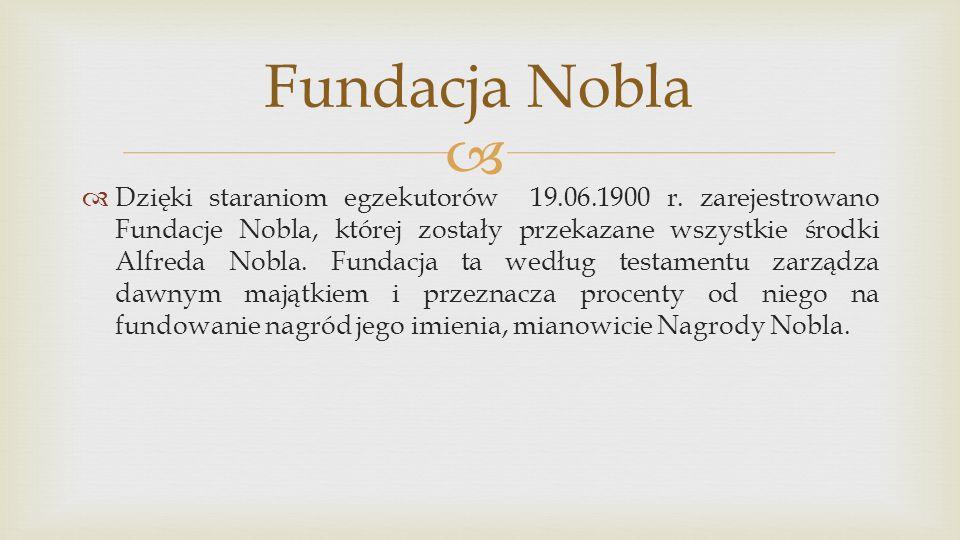 Fundacja Nobla