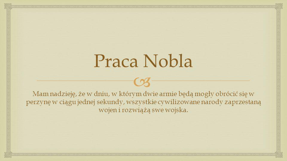 Praca Nobla