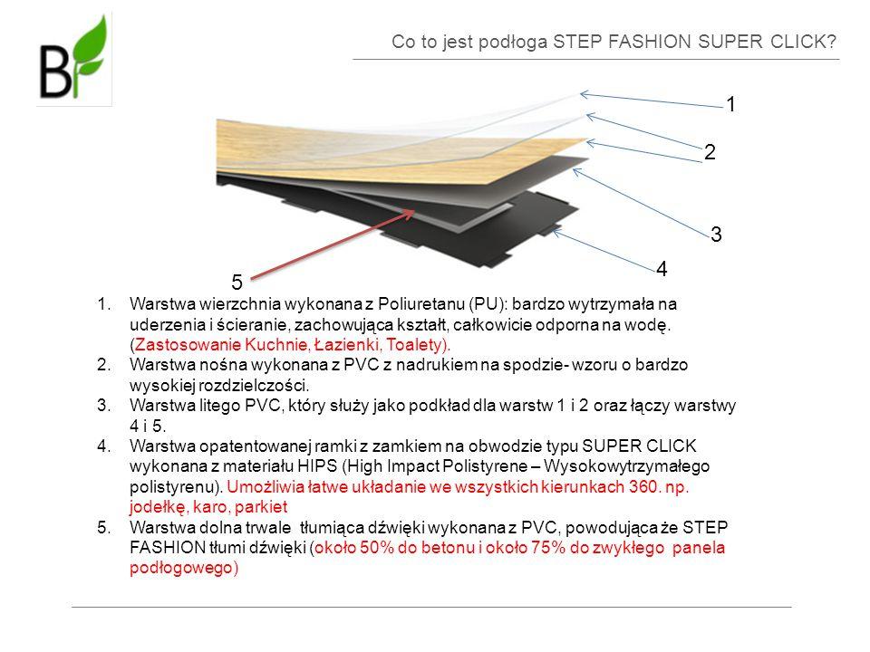 1 2 3 4 5 Co to jest podłoga STEP FASHION SUPER CLICK