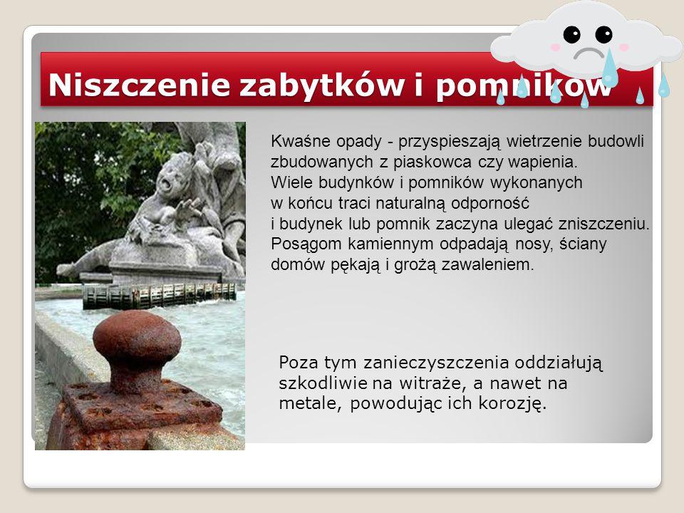 Niszczenie zabytków i pomników