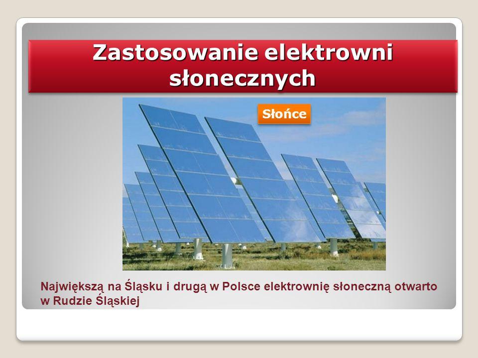 Zastosowanie elektrowni słonecznych