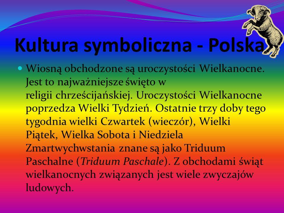 Kultura symboliczna - Polska