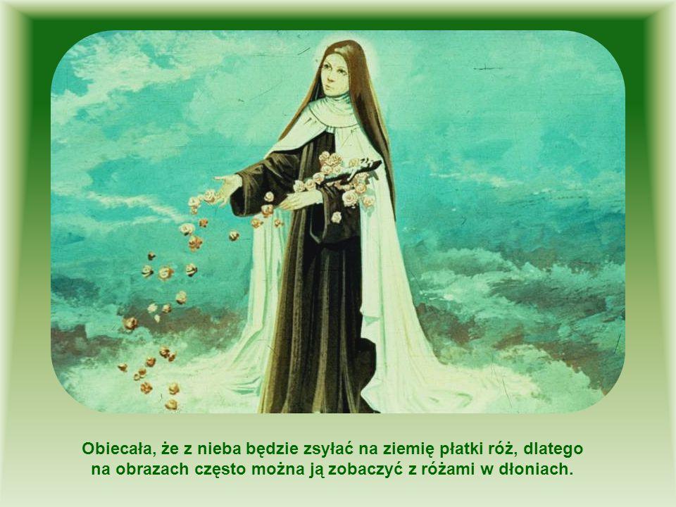 Obiecała, że z nieba będzie zsyłać na ziemię płatki róż, dlatego