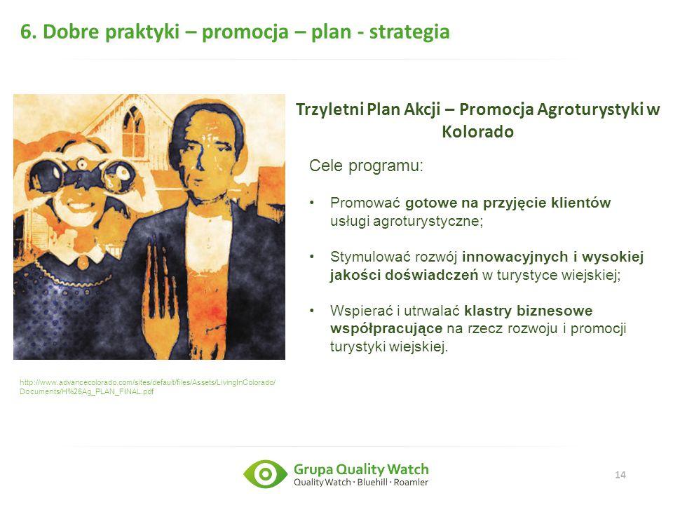 Trzyletni Plan Akcji – Promocja Agroturystyki w Kolorado