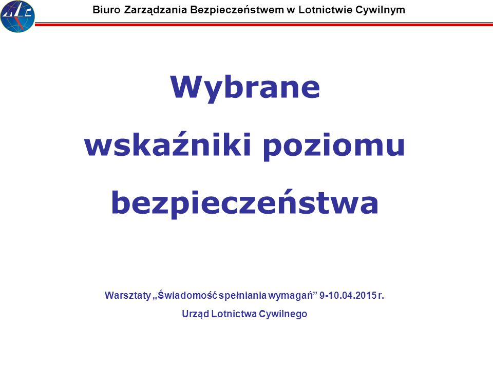Biuro Zarządzania Bezpieczeństwem w Lotnictwie Cywilnym