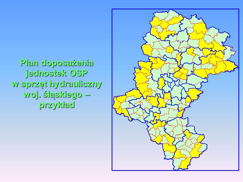 Plan doposażenia jednostek OSP w sprzęt hydrauliczny woj