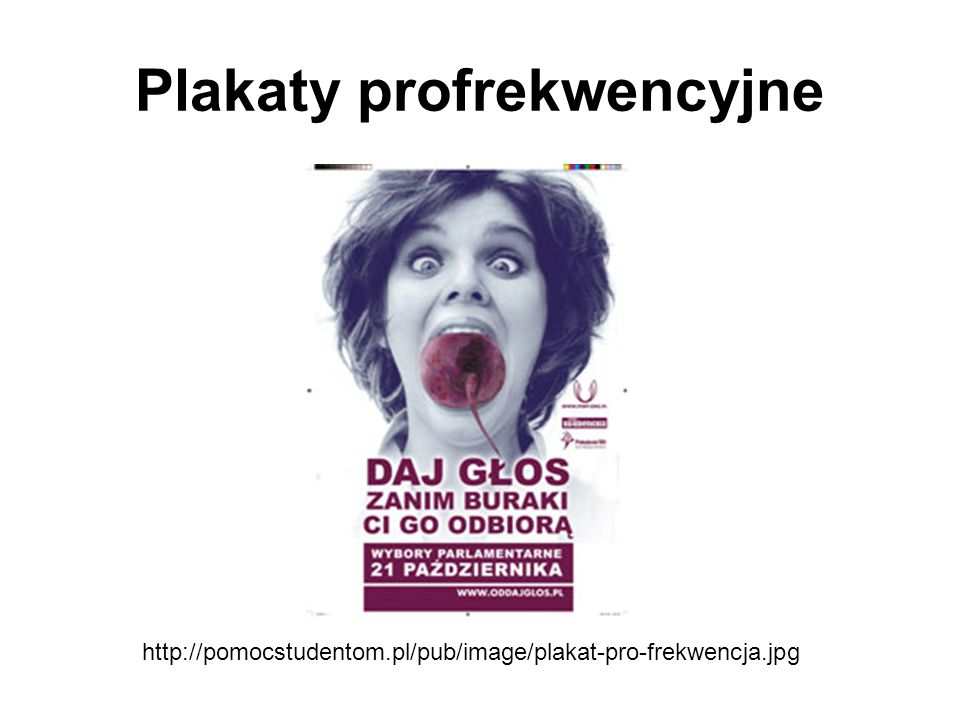 Plakaty profrekwencyjne