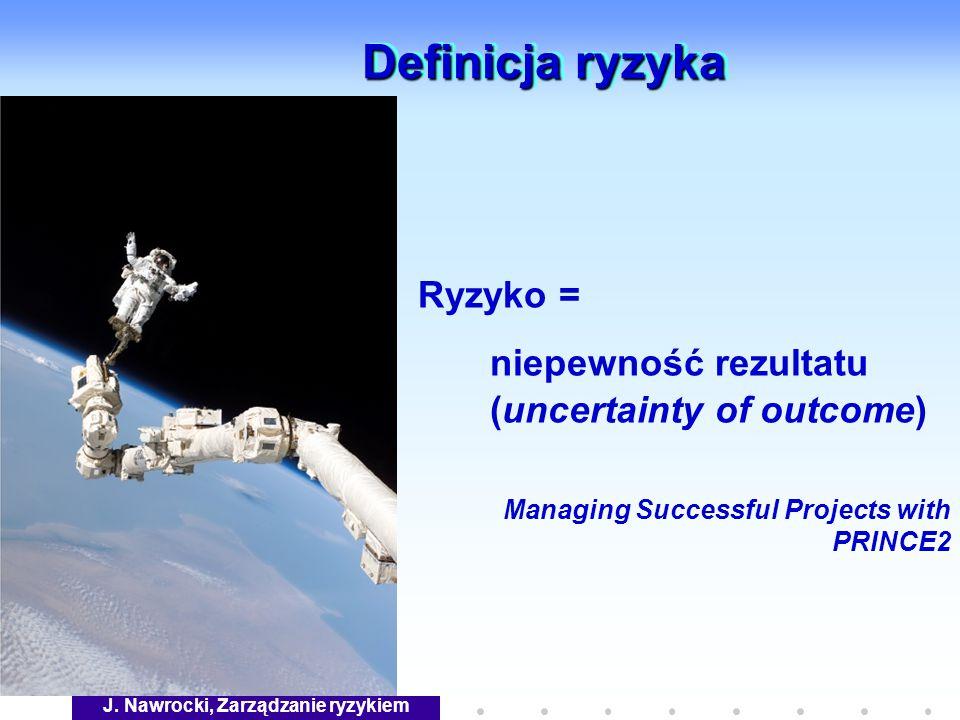 J. Nawrocki, Zarządzanie ryzykiem