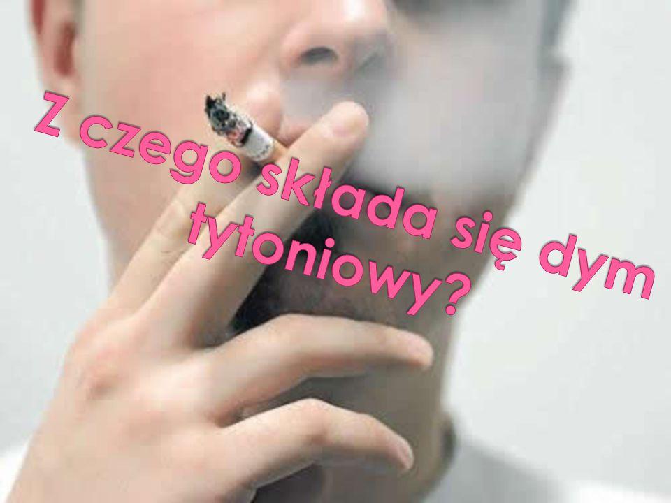 Z czego składa się dym tytoniowy