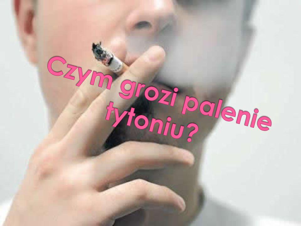 Czym grozi palenie tytoniu