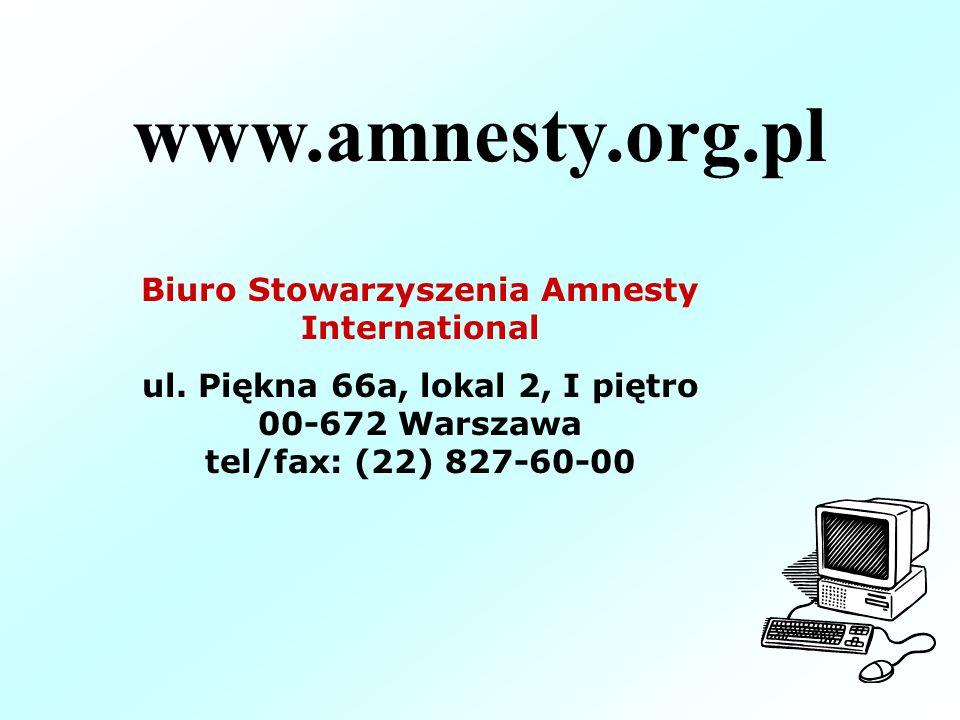 Biuro Stowarzyszenia Amnesty International
