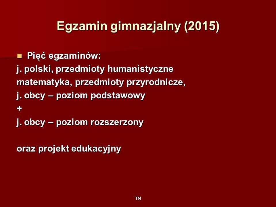 Egzamin gimnazjalny (2015)