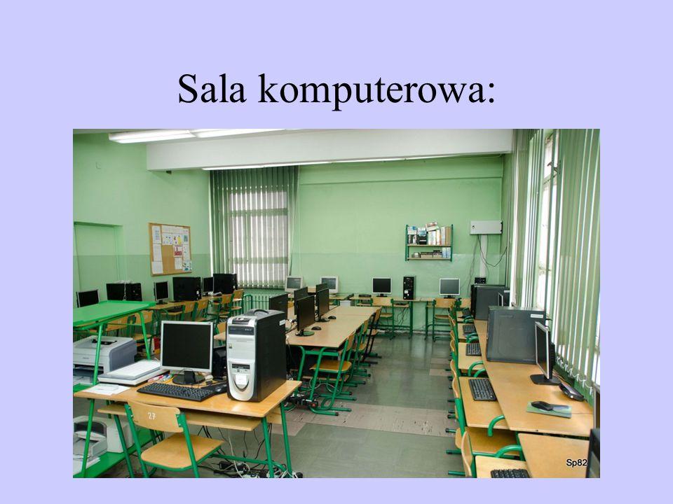 Sala komputerowa: