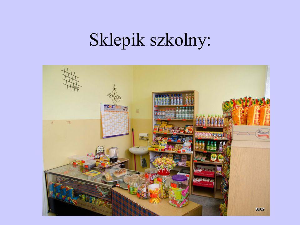 Sklepik szkolny: