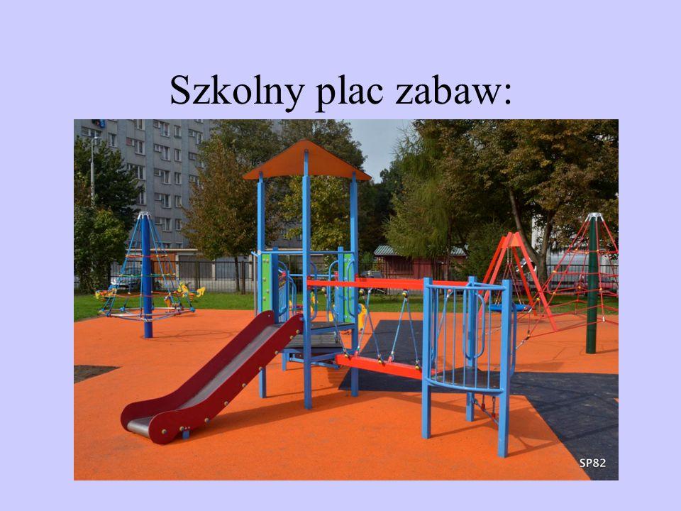 Szkolny plac zabaw: