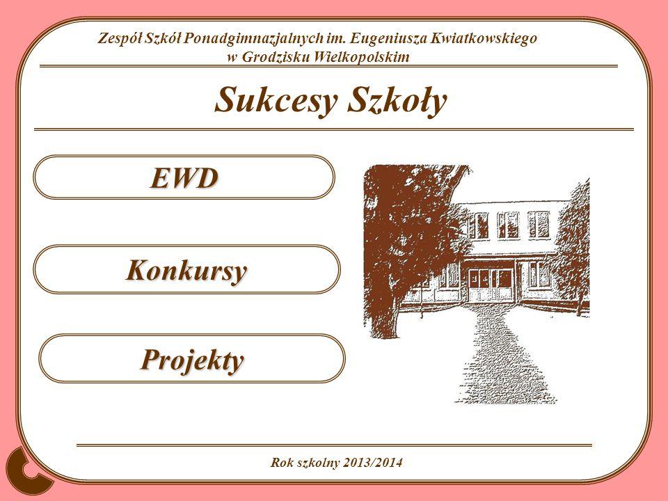 Sukcesy Szkoły EWD Konkursy Projekty