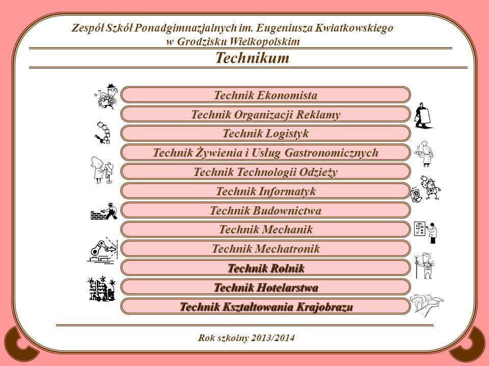 Technikum Technik Ekonomista Technik Organizacji Reklamy