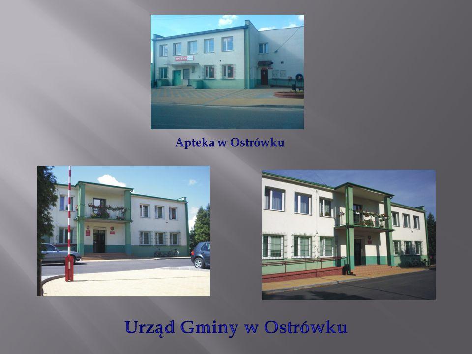 Apteka w Ostrówku Urząd Gminy w Ostrówku