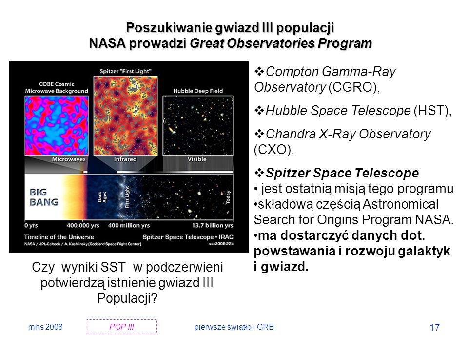 Poszukiwanie gwiazd III populacji
