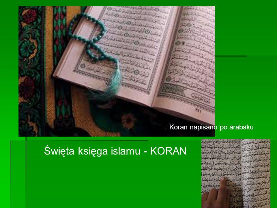 Święta księga islamu - KORAN