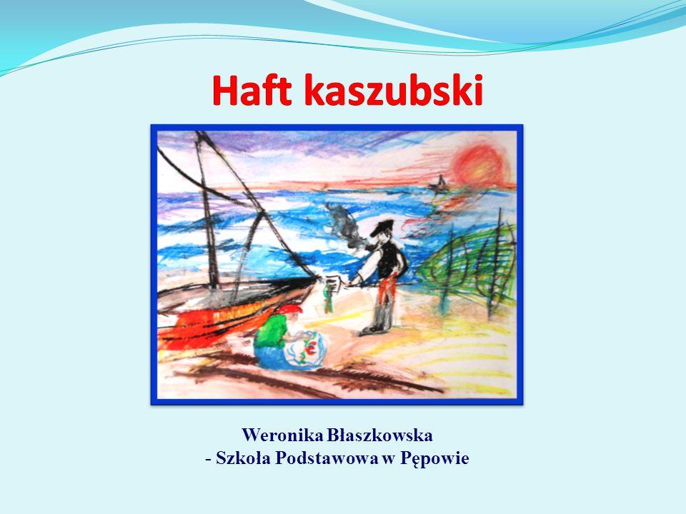 Weronika Błaszkowska - Szkoła Podstawowa w Pępowie