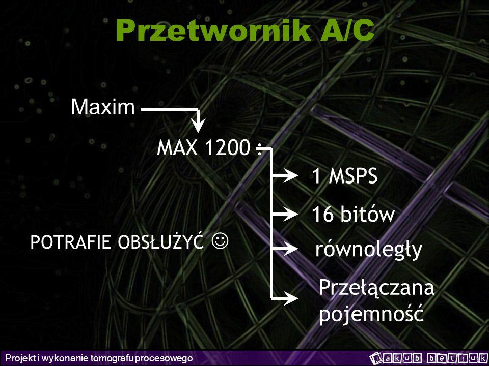 Przetwornik A/C Maxim MAX 1200 : 1 MSPS 16 bitów równoległy