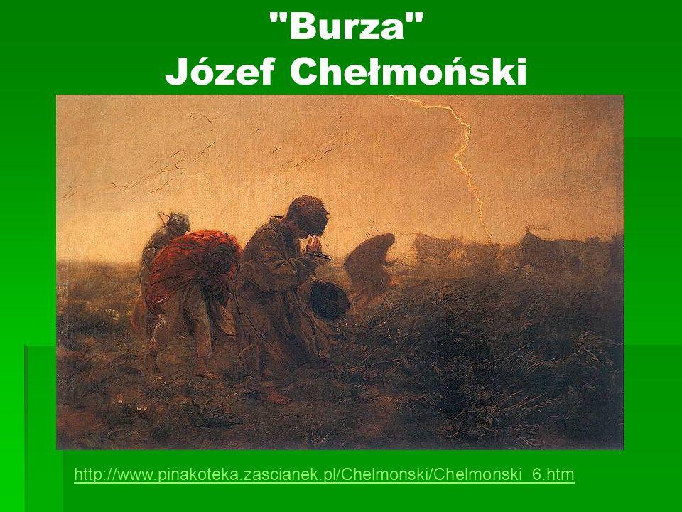 Burza Józef Chełmoński