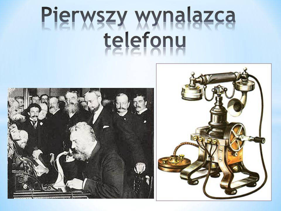 Pierwszy wynalazca telefonu