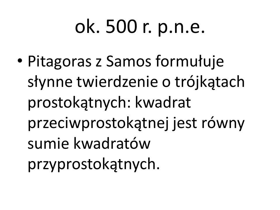 ok. 500 r. p.n.e.
