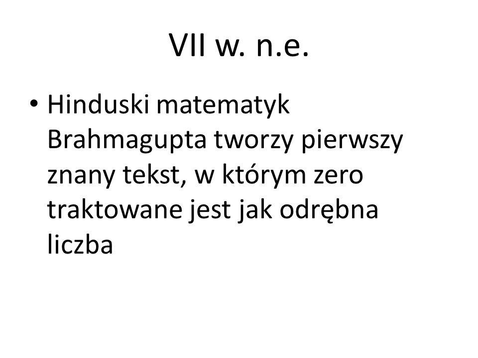 VII w. n.e.