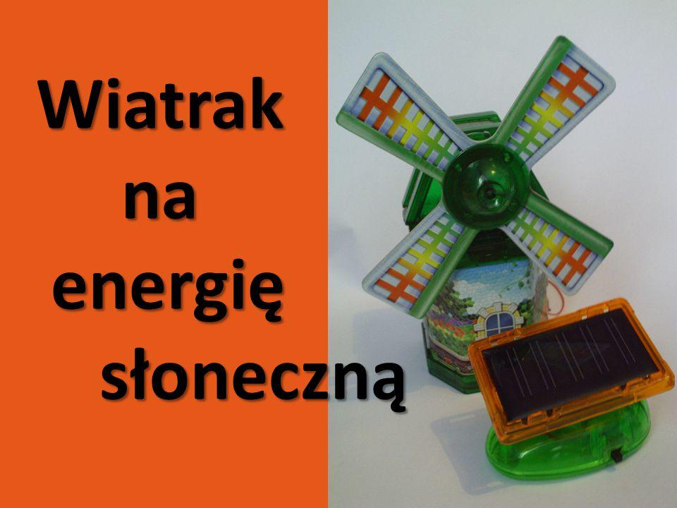 Wiatrak na energię słoneczną
