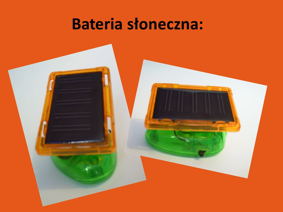 Bateria słoneczna: