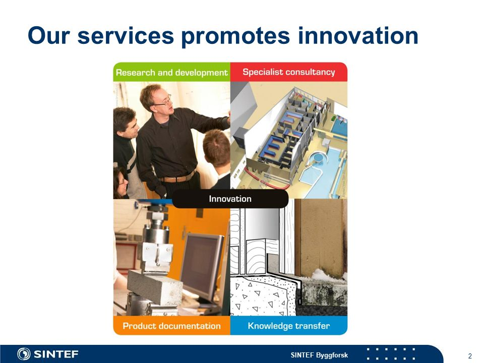 Our services promotes innovation