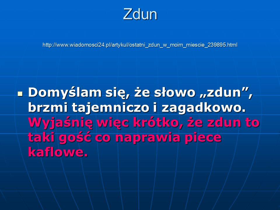 Zdun http://www. wiadomosci24
