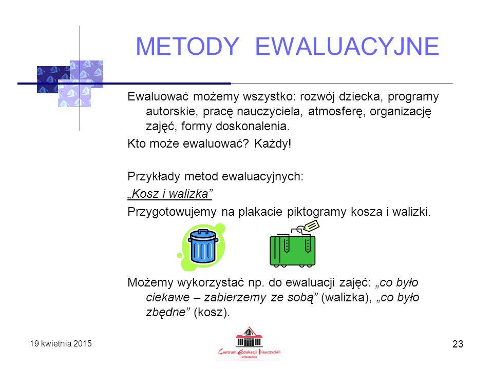 METODY EWALUACYJNE