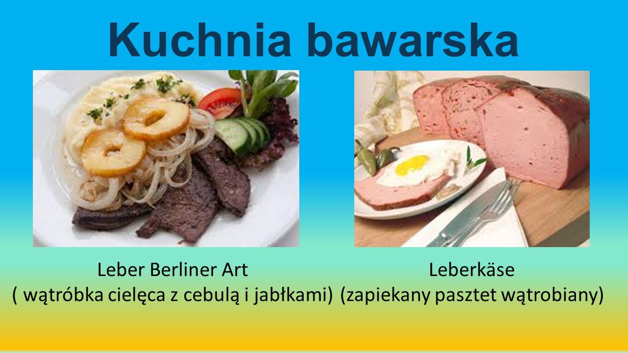 Kuchnia bawarska Leber Berliner Art