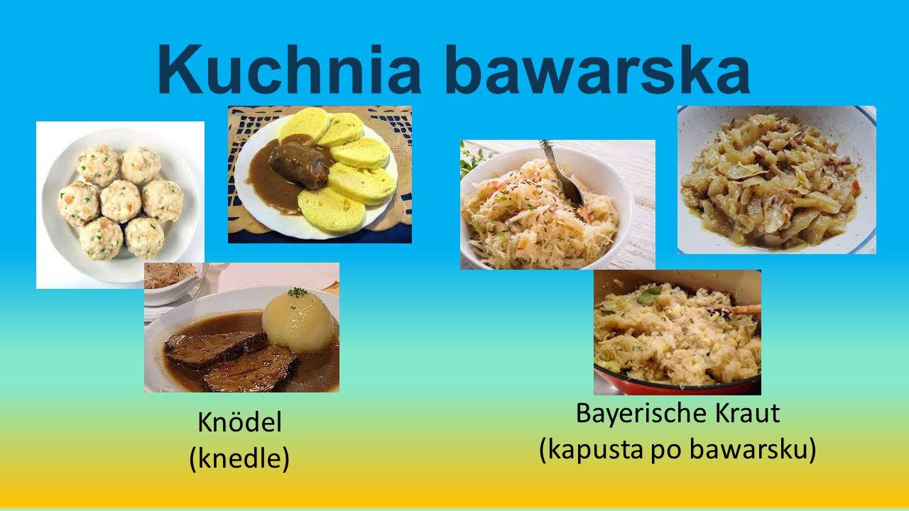 Kuchnia bawarska Bayerische Kraut Knödel (kapusta po bawarsku)