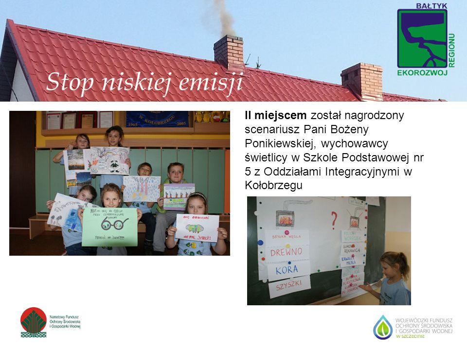 II miejscem został nagrodzony scenariusz Pani Bożeny Ponikiewskiej, wychowawcy świetlicy w Szkole Podstawowej nr 5 z Oddziałami Integracyjnymi w Kołobrzegu